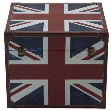 Coffre et malle rangement - Malle drapeau anglais ...